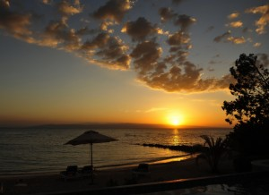 Plage Couche de soleil - Louis Albert Silvera