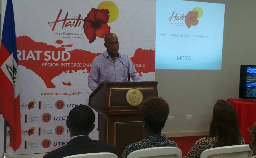 Cette initiative tant attendue sera l'occasion de mettre en valeur toutes les richesses de cette région. S.E.M. Michel Joseph Martelly