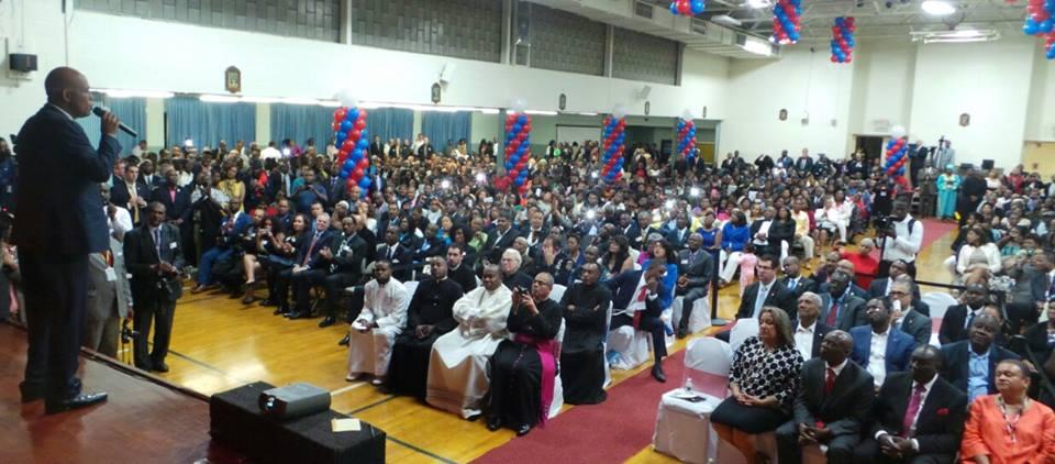 Petite causerie avec la communauté haïtienne de Spring Valley à New York