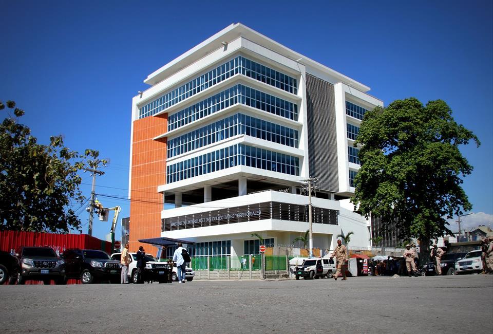 Nouveau bâtiment du Ministère de l'intérieur et des Collectivités Territoriales