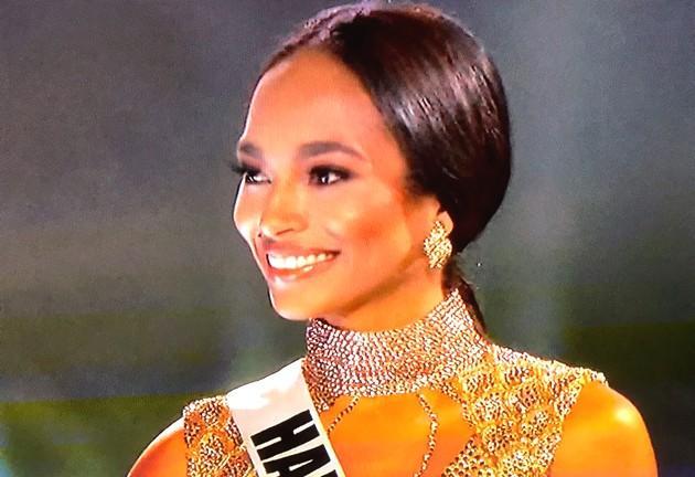 Miss Universo: Raquel Pélissier, 1era finalista - Embajada
